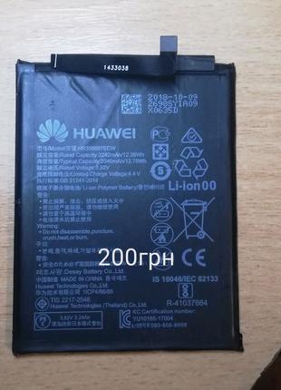 Продам батарею аккумулятор на huawei p smart plus