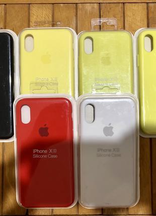 Чехол iPhone x // apple silicone case iPhone 10 x
