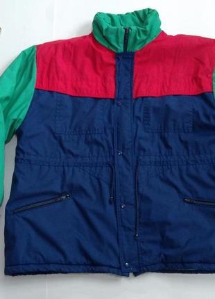 Мужская куртка утепленная весна - осень размер 50