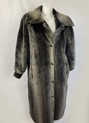 Пальто шерстяное теплое