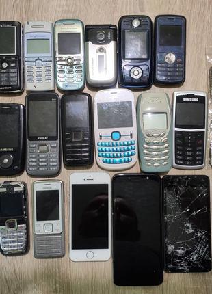 Iphone 5s,nokia,sony ericsson,samsung и т.д. на запчасти