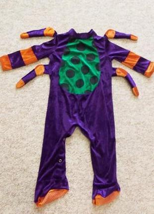 Новогодний костюм жучок- паучок на малыша