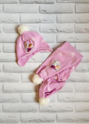 Распродажа🔥детский комплект, шапка + шарф 7-10л