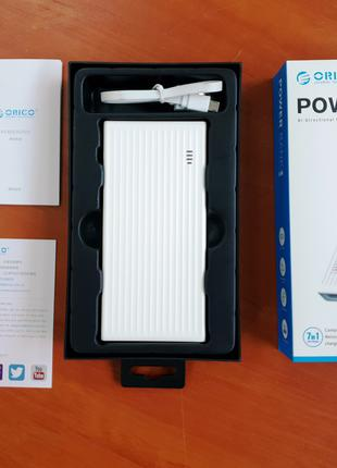 Power bank ORICO 10000мАч Павербанк, Быстрая зарядка QC3.0