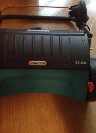 Аэратор газонный электрический Gardena ES 500
