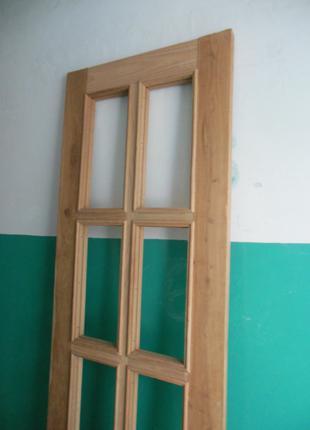 Двери из натурального дерева ясень