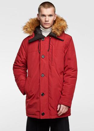 Новая мужская зимняя куртка zara xl 50 52 чоловіча зимова курт...