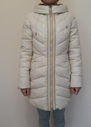 Женский зимний пуховик куртка 42 р утеплитель тинсулейт