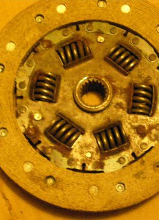 Диск сцепления новый ссср на ЛуАЗ 969 ЗАЗ  968.