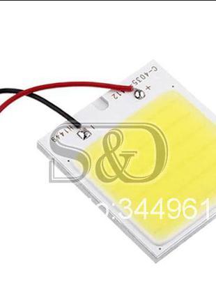 Лампа LED C5W, светодиодная панель подсветка салона автомобиля