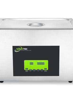 Двухрежимная ультразвуковая ванна Sonixtek 20 л 800 Вт, Европа