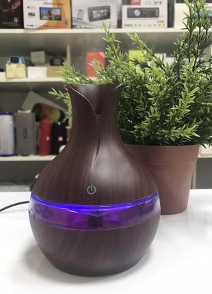 Увлажнитель воздуха, арома лампа с LED подсветкой, диффузор LR053