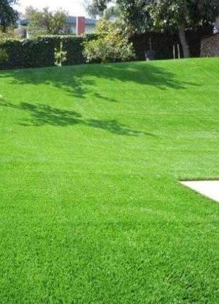 """Посев газонной травы, ремонт газона. Монтаж автополива """"под кл..."""