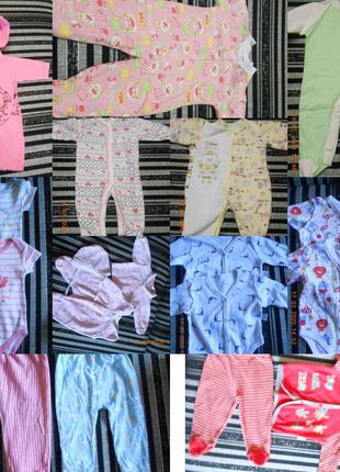 Одежда для новорожденного  (с рождения до 12 мес)