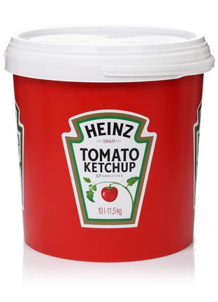 Heinz кетчуп ведро 10л