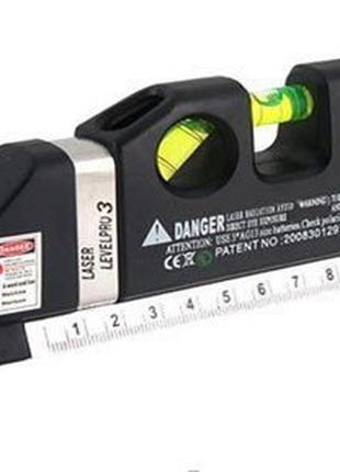 Лазерный Строительный Уровень Рулетка Линейка Метр Laser Level PR