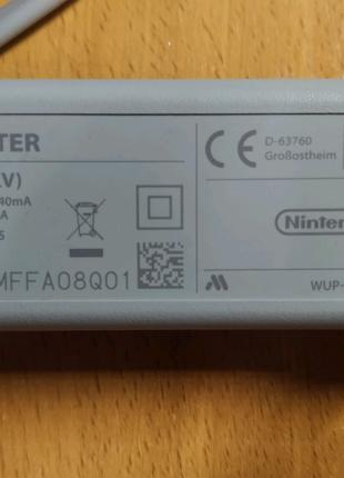 Зарядное устройство геймпада Nintendo Wii U 4,75V 1,6A