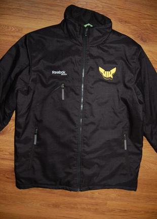 Фирменная куртка reebok, зимняя