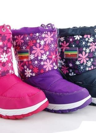 Зимние сапоги-дутики для девочек