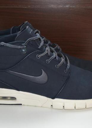 Nike sb air max stefan janoski 44.5р кроссовки кожаные. оригинал