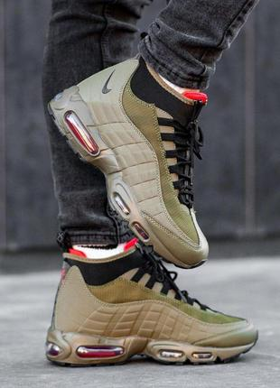 Nike air max sneakerboot 95 green