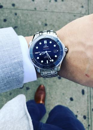 Часы Omega Seamaster Pro Ceramic Blue