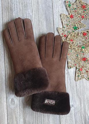 Перчатки овчина ugg m-l