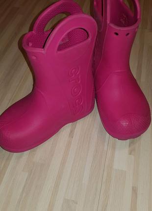 Резиновые сапоги Crocs C9