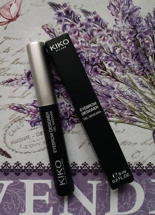 Eyebrow designer kiko milano !прозрачный фиксирующий гель для ...
