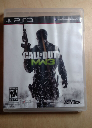 Игра Call of Duty Modern Warfare 3 для ps3 ENG