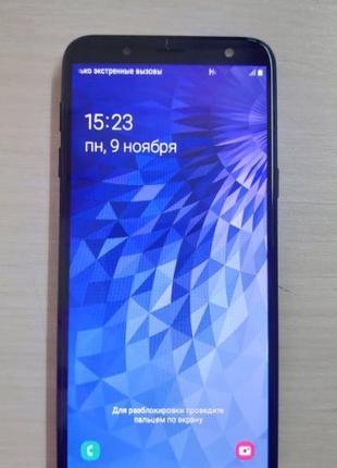Смартфон Samsung Galaxy J6 J600F 2/32 Black