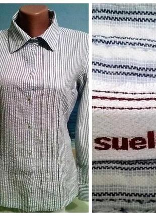 Рубашка al suelo! натуральный хлопок 8, 10 размер