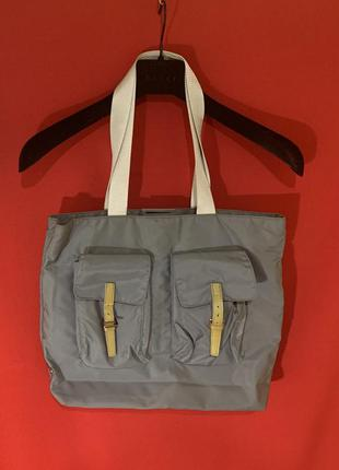 Винтажная нейлоновая сумка prada