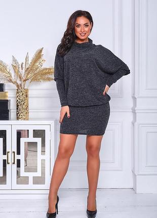 Платье туника большие размеры