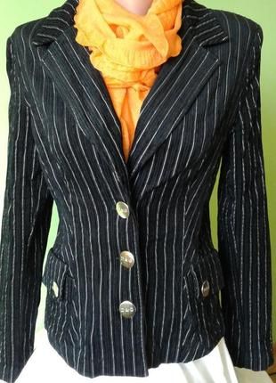 Жакет пиджак вельветовый 12 размер