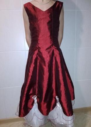 Платье нарядное пышное, карнавальный костюм принцессы