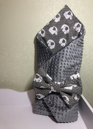 Детский конверт-одеяло,конверт на выписку
