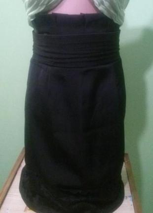 Юбка з гипюром 48 размер