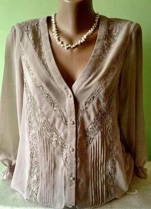 Нарядная блуза 10, 12, 14 размер