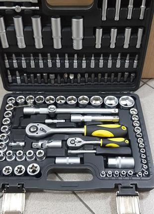 Набор инструментов СТАЛЬ 108 ед , набор головок