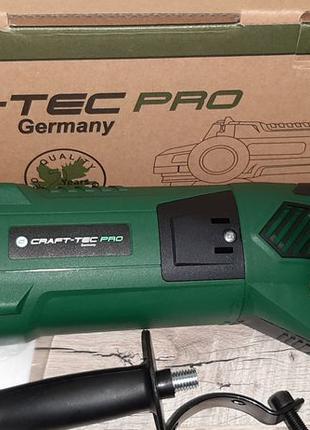 Болгарка CRAFT-TEC PXAG228А Углошлифовальная машина новая гара...