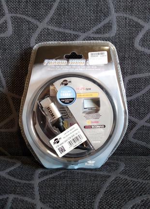 Кабель HDMI - HDMI в оплетке
