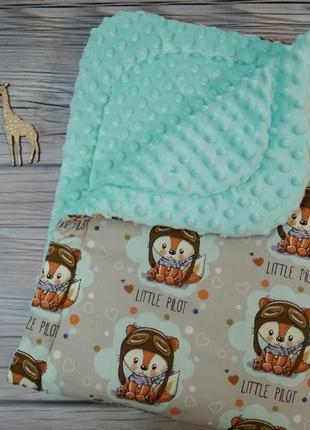 Плед конверт на выписку или одеялко