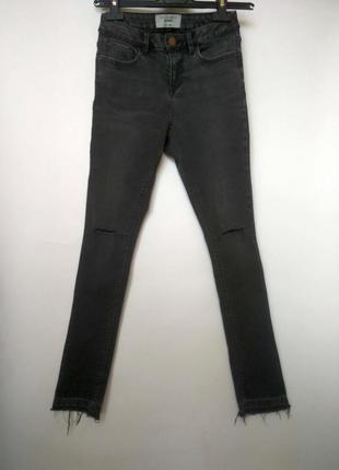 Стильные джинсы-скинни с высокой талией new look