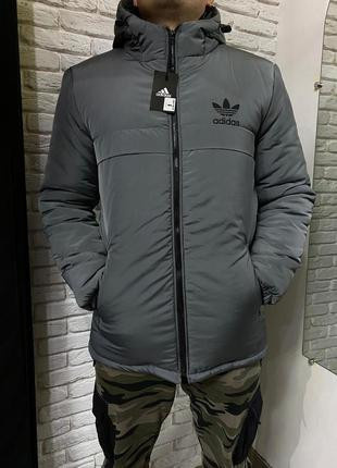 Мужская зимняя куртка парка adidas 💥