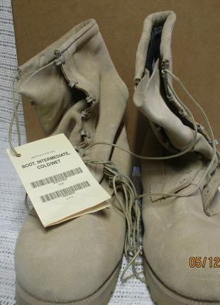 Ботинки, берцы армейские для холодной погоды Wellco ICW (БЦ – 044