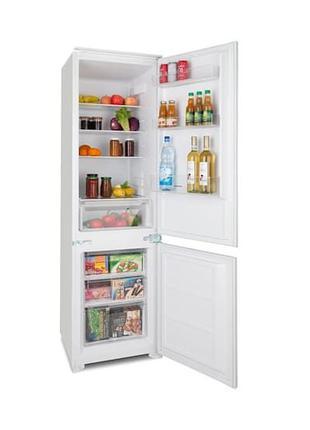Холодильник двухкамерный Klarstein CoolZone 250 Eco встраиваемый