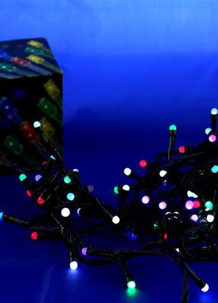Xmas гирлянда LED 100 M-4 Мультицветная,ящик