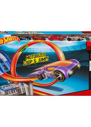 Трек Безумный форсаж Hot Wheels Super Loop Raceway ХотВилс