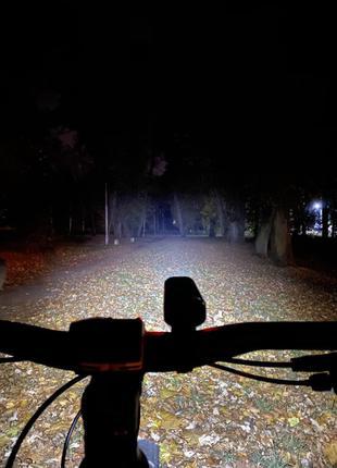 Фара на велосипед usb для вело фонарь вело фара велосипедная